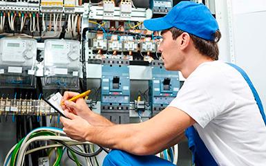Выполнение электротехнических работ